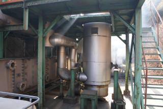 竹酢液反応炉